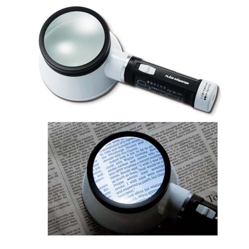 Kính lúp cầm tay có đèn LED