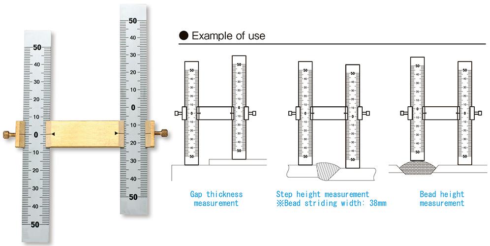 Dưỡng đo ba bước MSG-50
