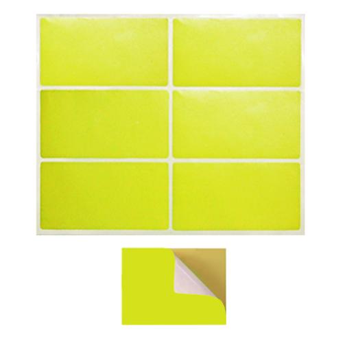 Decal màu vàng cho QC/QA
