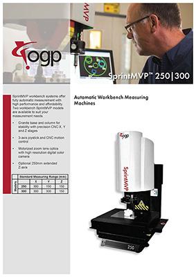 Catalog Máy đo video SprintMVP250|300