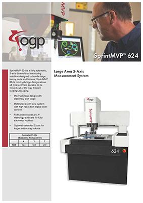 Catalog Máy đo video SprintMVP624