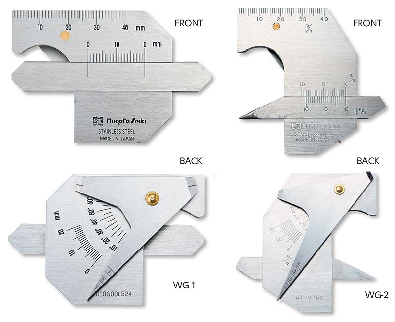 Thước đo mối hàn WG series