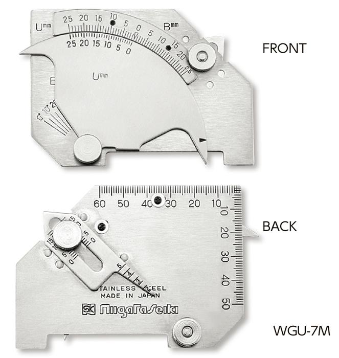 Dưỡng đo mối hàn WGU-7M