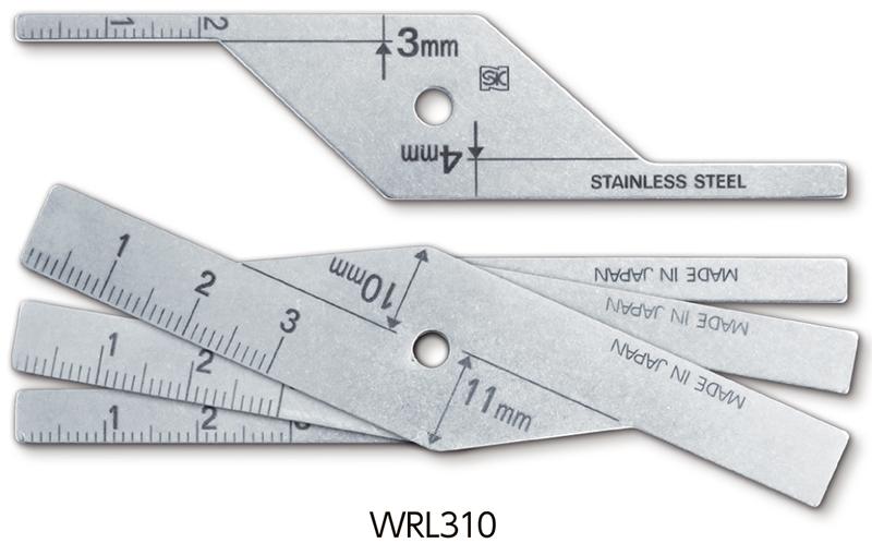 Dưỡng đo mối hàn WRL series
